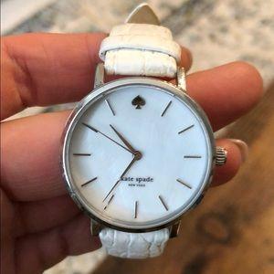 Kate Spade White Watch